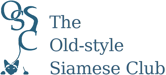 Old Style Siamese Cat Club